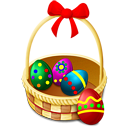 basket, easter, eggs, shops icon
