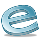 e, explorer, internet icon