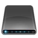 disk, drive, external, modem icon