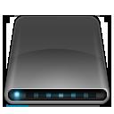 disk, drive, external, modem icon