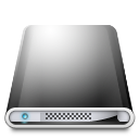 dark, harddisk icon