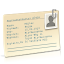 file, journal, patient data icon