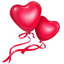בלונים לבבות
