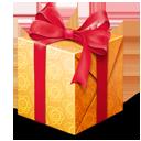 dárek, současné ikony