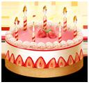 birthday, cake