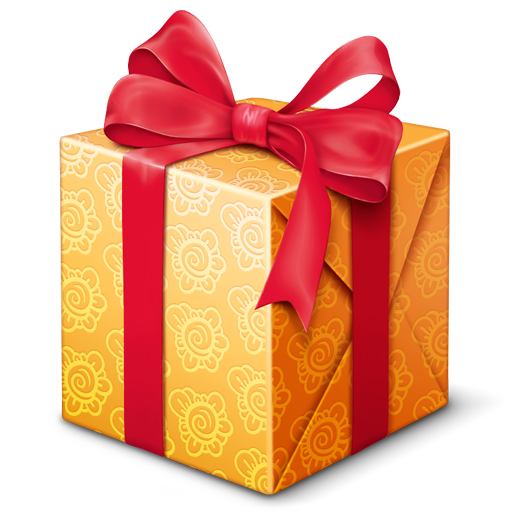 gift, present, prize icon