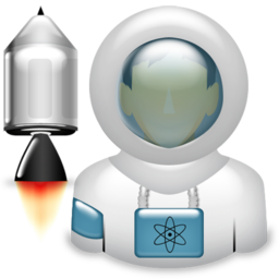 astronaut, space icon