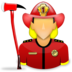 bombero, bomberos, firefighter icon