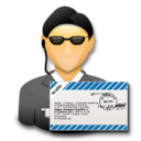 agent, mail, secret agent, signature, ssl, user icon