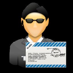 agent, mail, secret agent, signature, ssl, user icon