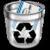mail, trash icon