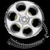 film, media, movie, reel, video icon