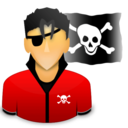 piracy, pirate icon