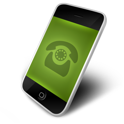 dial, green icon