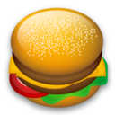 128, fast food, food, hamburger icon