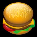 128, fast food, food, hamburger icon