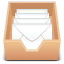 emails, inbox icon