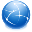 internet, intranet icon