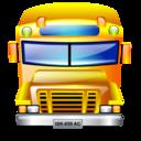 transportation, service, school bus icon