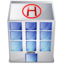 hospital search icon