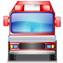 fire, engine icon