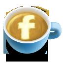 64, fb, latte, social icon