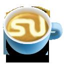 64, latte, social, su icon