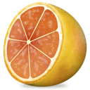 fruit, grapefruit icon