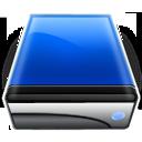 blue, drive icon