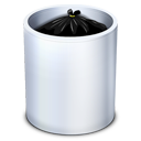 dock, full, garbage, recycle bin, trash icon