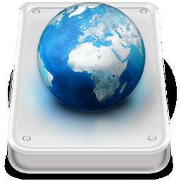 disk, hard, server, | icon