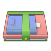 books, school icon