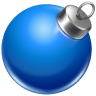 ball, christmas icon