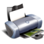 medical, print, printer icon