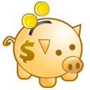 ciclis, deposit, money, piggy bank, save icon