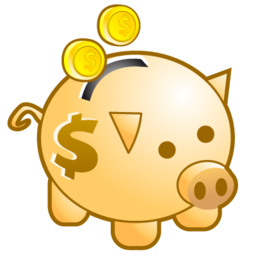 ciclis, deposit, guardar, money, piggy bank, save icon