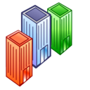 companies, competitors, departmens, offices icon