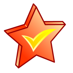 brand, star icon