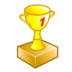 the best, trophy, win icon