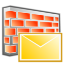 block, email, filter, firewall icon