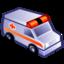 ambulance, emergency icon