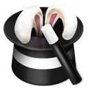 +, ears, wand icon