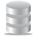 data, database, storage, tape icon