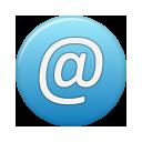 address, blue icon