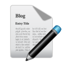blog, compose icon