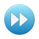 blue, button, ffw icon