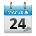 2009, calendar, event, may icon