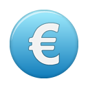 currency, blue, euro