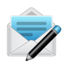 compose, email, envelope, mail, newsletter icon