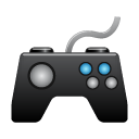 computer game, game, pad icon